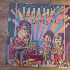 Discos de vinilo: JOHN CALE - COMES ALIVE (LP, ALBUM) . Lote 173067639
