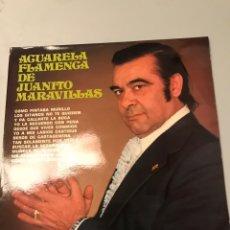 Discos de vinilo: JUANITO MARAVILLAS - ACUARELA FLAMENCA. Lote 173069052