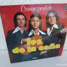 Discos de vinilo: CAMINO PERDIDO. LOS DE LA CAÑA. LP VINILO. PHILIPS FONOGRAM 1976. VER FOTOGRAFIAS ADJUNTAS. Lote 173069202