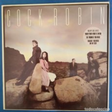 Discos de vinilo: COCK ROBIN - WHEN YOUR HEART IS WEAK (DANCE MIX) - MAXI 1985. Lote 173069932