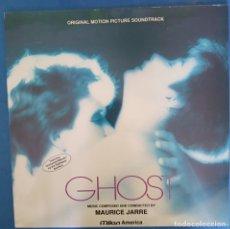 Discos de vinilo: MAURICE JARRE - GHOST (BSO) LP FRANCE 1990. Lote 173070738