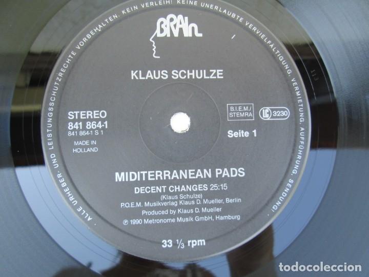 Discos de vinilo: KLAUS SCHULZE. MIDITERRANEAN PADS. LP VINILO. METRONOME MUSIK 1990. VER FOTOGRAFIAS ADJUNTAS - Foto 4 - 173071218