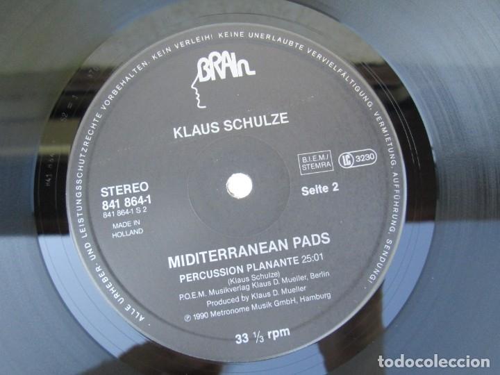 Discos de vinilo: KLAUS SCHULZE. MIDITERRANEAN PADS. LP VINILO. METRONOME MUSIK 1990. VER FOTOGRAFIAS ADJUNTAS - Foto 6 - 173071218
