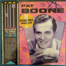 Discos de vinilo: PAT BOONE - THE HIT SINGLES COLLECTION 1986. Lote 173071264