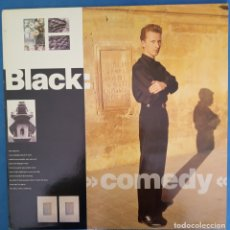 Discos de vinilo: BLACK COMEDY LP 1988. Lote 173071544