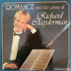 Discos de vinilo: RICHARD CLAYDERMAN ROMANCE AND THE PIANO OF 1989. Lote 173072659