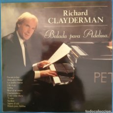 Discos de vinilo: LP RICHARD CLAYDERMAN, BALADA PARA ADELINA, 1991. Lote 173072942