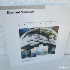 Discos de vinilo: EBERHARD SCHOENER. SKY MUSIC. MOUNTAIN MUSIC. LP VINILO. DIRECT METAL MASTERING. KUCKUCK 1984. Lote 173073022