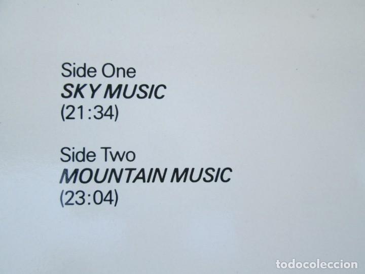 Discos de vinilo: EBERHARD SCHOENER. SKY MUSIC. MOUNTAIN MUSIC. LP VINILO. DIRECT METAL MASTERING. KUCKUCK 1984 - Foto 7 - 173073022