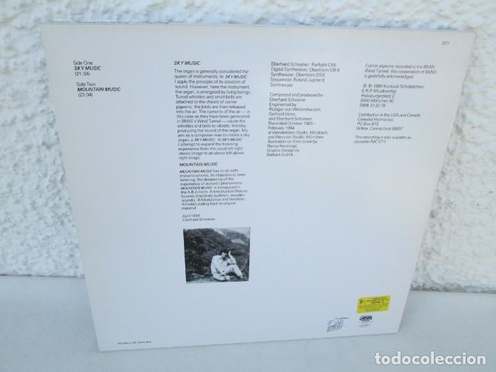 Discos de vinilo: EBERHARD SCHOENER. SKY MUSIC. MOUNTAIN MUSIC. LP VINILO. DIRECT METAL MASTERING. KUCKUCK 1984 - Foto 9 - 173073022
