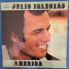 Discos de vinilo: JULIO IGLESIAS - AMERICA - COLUMBIA - SPAIN - DOBLE PORTADA - 1977. Lote 173073722