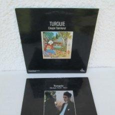 Discos de vinilo: TURQUIE. CINUCEN TANRIKORUR. MUSIQUIE SOUFI VOL2. 2 LP VINILO. 1985/86. OCORA. VER FOTOGRAFIAS. Lote 173075563
