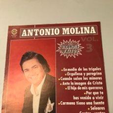 Discos de vinilo: ANTONIO MOLINA- SUS GRANDES. Lote 173084335