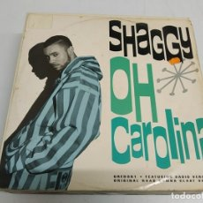 Discos de vinilo: SHAGGY / RAYVON -- OH CAROLINA / RIVERS OF BABYLON. Lote 173086019