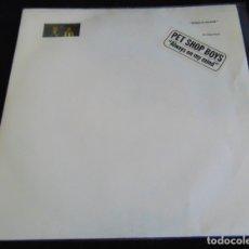 Disques de vinyle: PET SHOP BOYS – ALWAYS ON MY MIND - SINGLE 1987. Lote 173090699
