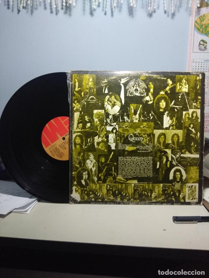 Discos de vinilo: QUEEN ( PRIMER LP, 1973 ) EDICION ESPAÑA, PRIMERA EDICION (1 J 062-94.519) - Foto 2 - 173095168