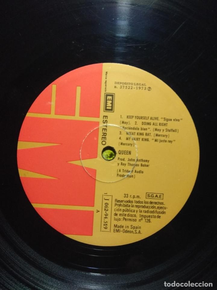 Discos de vinilo: QUEEN ( PRIMER LP, 1973 ) EDICION ESPAÑA, PRIMERA EDICION (1 J 062-94.519) - Foto 3 - 173095168