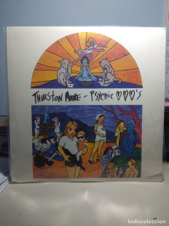 LP THURSTON MOORE ( SONIC YOUTH ) : PSYCHIC HEARTS (CONTIENE DOS VINILOS, UNO NEGRO Y OTRO VERDE) (Música - Discos - LP Vinilo - Pop - Rock Extranjero de los 90 a la actualidad)