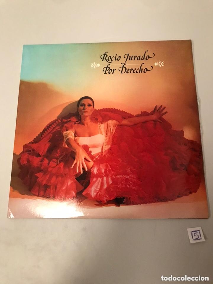 ROCIO JURADO POR DERECHO (Música - Discos - LP Vinilo - Cantautores Españoles)