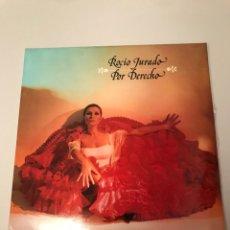 Discos de vinilo: ROCIO JURADO POR DERECHO. Lote 173101517