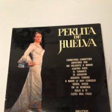Discos de vinilo: PERLITA DE HUELVA LP. Lote 173101544
