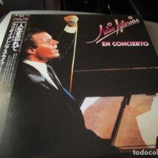 Discos de vinilo: JULIO IGLESIAS EN CONCIERTO 2 LP'S ( JAPON ). Lote 173106864