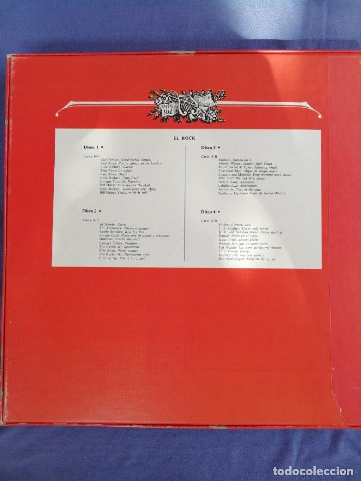 Discos de vinilo: La música elegida. El rock. Libro + 4 vinilos. - Foto 2 - 173116227
