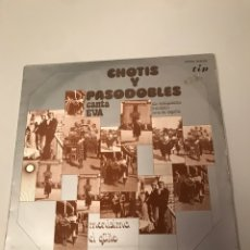 Discos de vinilo: CHOTIS Y PASODOBLES. Lote 173118940