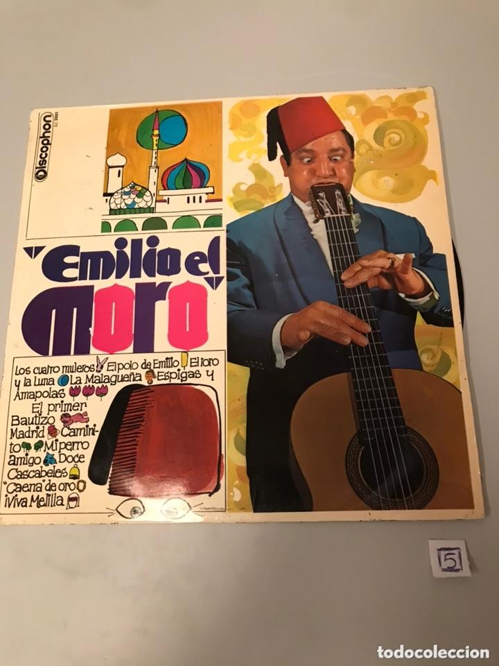 EMILIO EL MORO (Música - Discos - LP Vinilo - Cantautores Extranjeros)