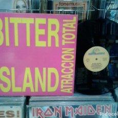Discos de vinilo: LMV - BITTER ISLAND. ATRACCION TOTAL. BOY RECORDS 1993, REF. BOY 202. Lote 173121227