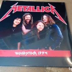 Discos de vinilo: METALLICA - WOODSTOCK 1994. LP VINILO PRECINTADO. Lote 173121500