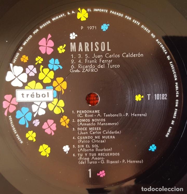 Discos de vinilo: MARISOL Perdoname VINILO LP 1971 EDICION MEXICO MUY RARA - Foto 3 - 173121684