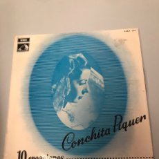 Discos de vinilo: CONCHITA PIQUER - 10 CREACIONES. Lote 173122593