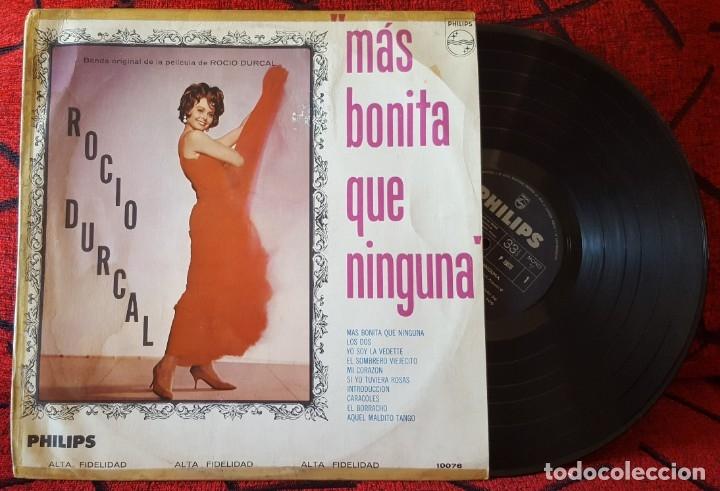 ROCIO DURCAL MAS BONITA QUE NUNCA VINILO LP BANDA SONORA ORIGINAL EDICON MEXICANA (Música - Discos - LP Vinilo - Solistas Españoles de los 50 y 60)