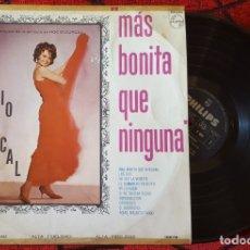 Discos de vinilo: ROCIO DURCAL MAS BONITA QUE NUNCA VINILO LP BANDA SONORA ORIGINAL EDICON MEXICANA. Lote 173123194