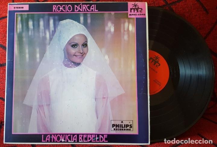 ROCIO DURCAL LA NOVICIA REBELDE VINILO LP ORIGINAL EDICION USA (Música - Discos - LP Vinilo - Solistas Españoles de los 50 y 60)