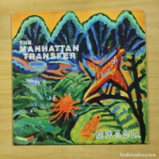 Discos de vinilo: THE MANHATTAN TRANSFER - BRASIL - LP. Lote 173126187