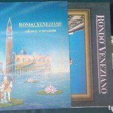 Discos de vinilo: RONDO VENEZIANO LP ODISSEA VENEZIANA 1991 CON ENCARTE ELECTRONICA CLASICA VG+. Lote 173139242