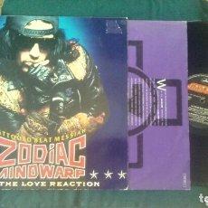 Discos de vinilo: ZODIAC MINDWARP LP TATTOOED BEAT MESSIAH 1988 CON ENCARTE VG HEAVY HARD ROCK THE CULT. Lote 173140048