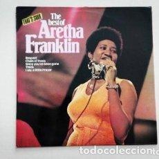 Discos de vinilo: ARETHA FRANKLIN THE BEST OF RESPECT, CHAIN OF FOOLS LP ATLANTIC N1980 EDICIÓN 1984. Lote 173151835