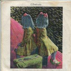 Discos de vinilo: ULTRATRUITA / SANGRE Y ARENA / FRIO (SINGLE 1983) CON INSERT. Lote 173155704