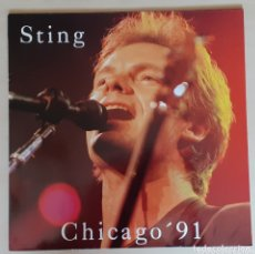 Discos de vinilo: STING - CHICAGO '91 - LP. 1991. Lote 173166200