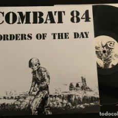 Disques de vinyle: DISCO LP VINILO COMBAT 84 ORDERS OF THE DAY 2006 DIM SKINHEAD OI PUNK. Lote 173189852