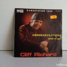 Discos de vinilo: CLIFF RICHARD . Lote 173195933