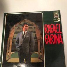 Discos de vinilo: AFAEL FARINA – RAFAEL FARINA. Lote 173202999