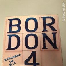 Discos de vinilo: BORDON 4 - ENAMORADO DE ELLA LP. Lote 173203798