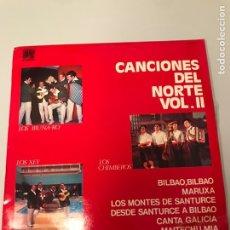 Discos de vinilo: CANCIONES DEL NORTE. VOL. 2. Lote 173203997