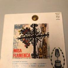 Discos de vinilo: MISA FLAMENCA. Lote 173204360