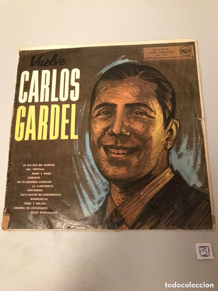 VUELVE CARLOS GARDEL (Música - Discos - LP Vinilo - Cantautores Españoles)