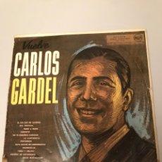 Discos de vinilo: VUELVE CARLOS GARDEL. Lote 173205282